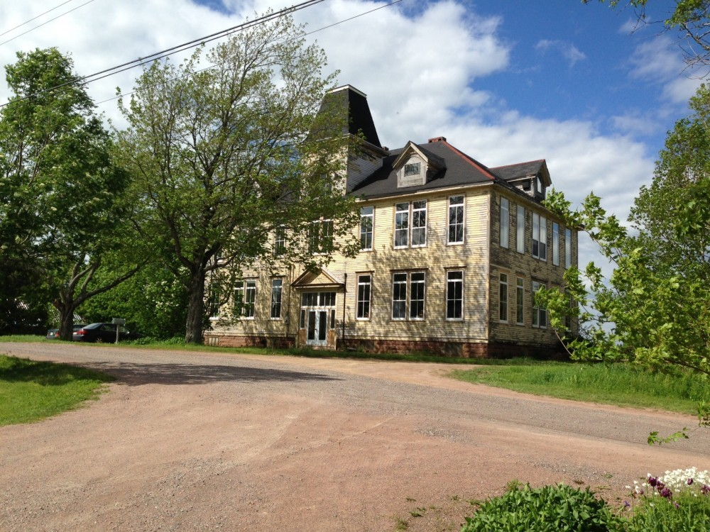 As the organizations grew, Community Forests International established an office in an old school house in Sackville, NB